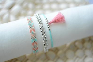 bracelet tissé tressé